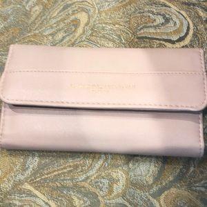 Adrienne Vittadini wallet. Blush pink